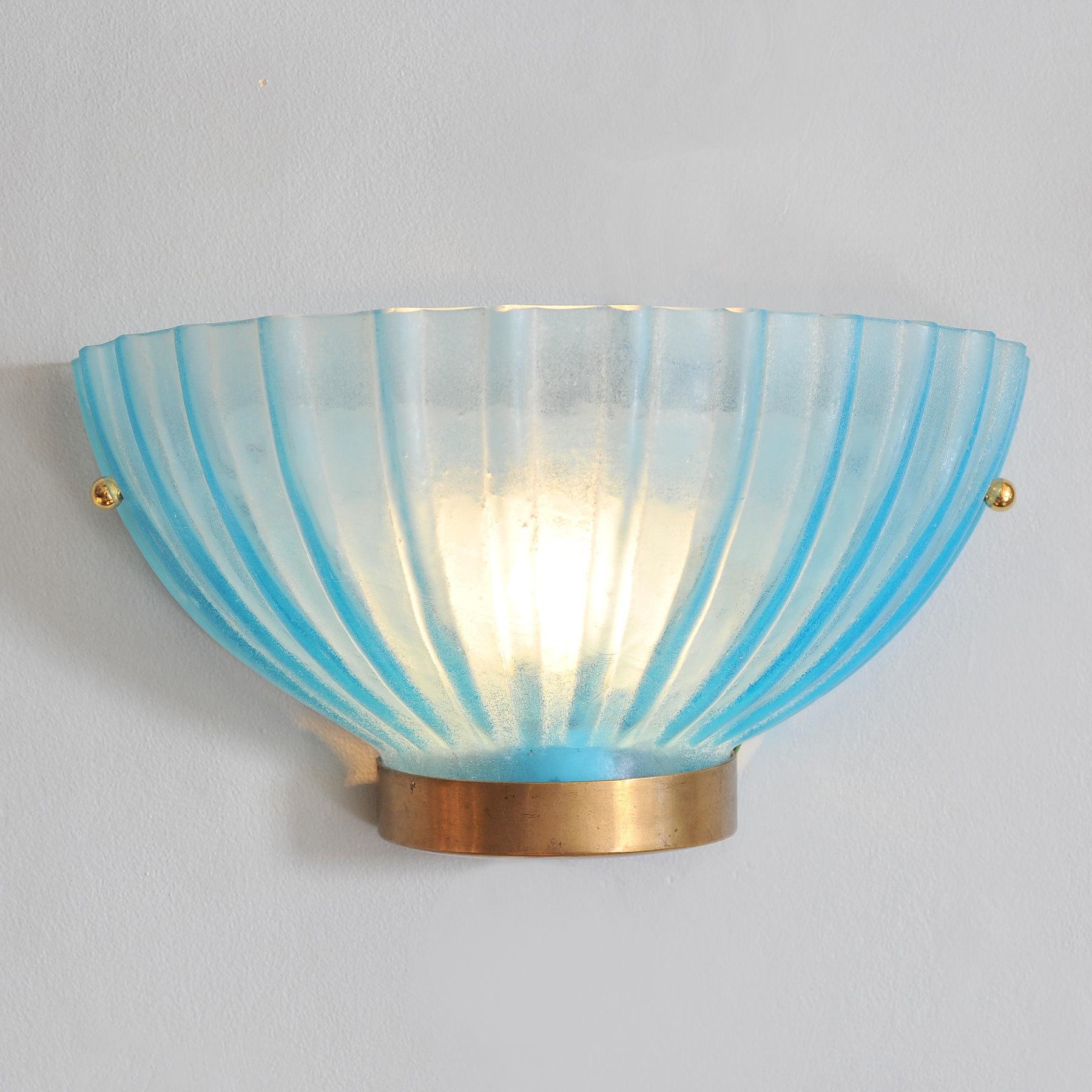 Two Seguso Scallop Lights 04 Vw