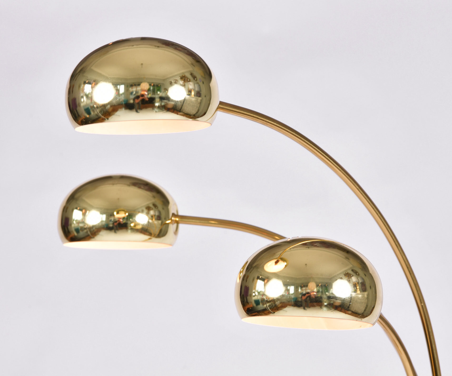 The image for Us 1970S Brass Floor Lamp 03