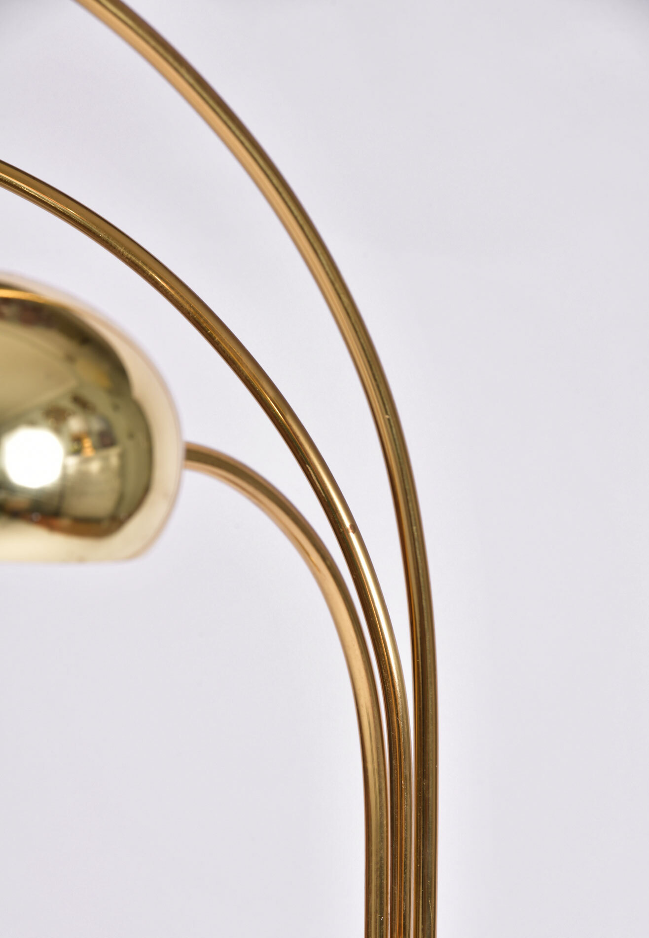 The image for Us 1970S Brass Floor Lamp 04