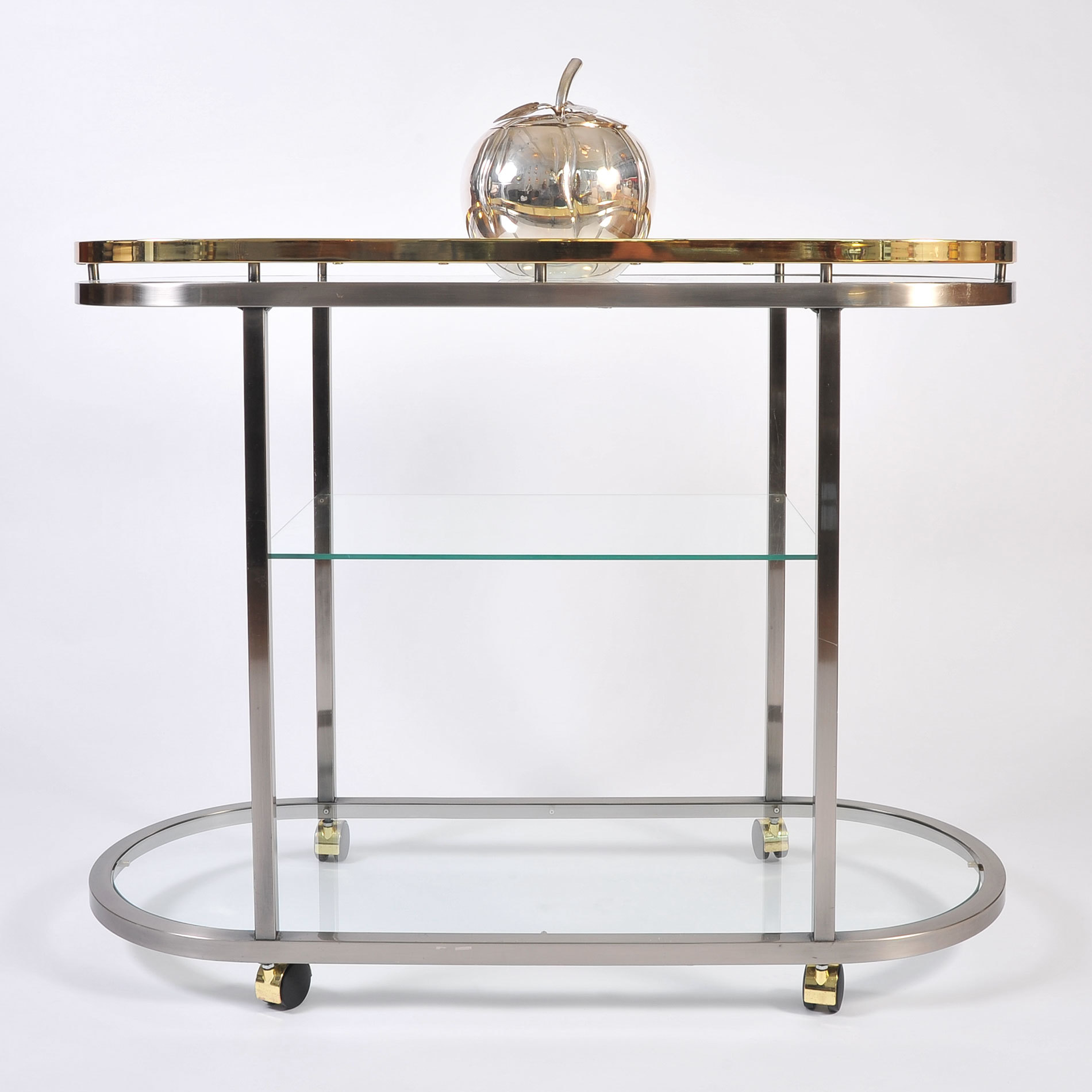 Us Chrome Brass Trolley 01