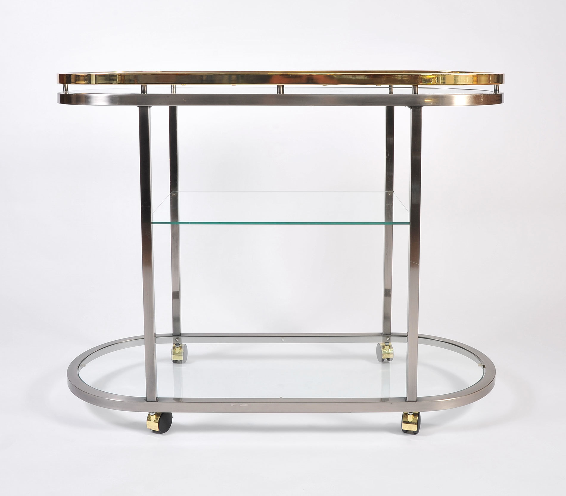 Us Chrome Brass Trolley 02
