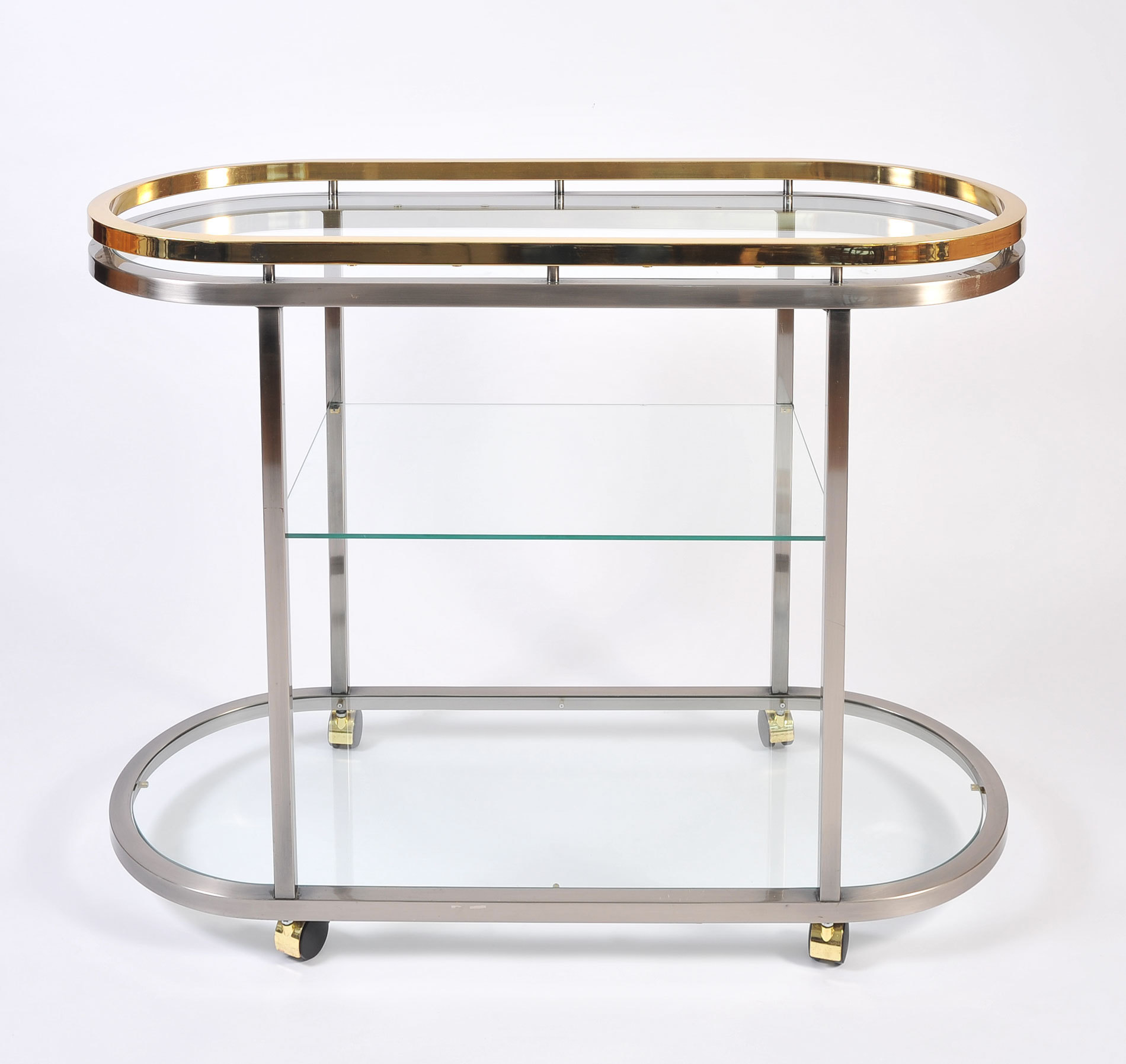 Us Chrome Brass Trolley 03