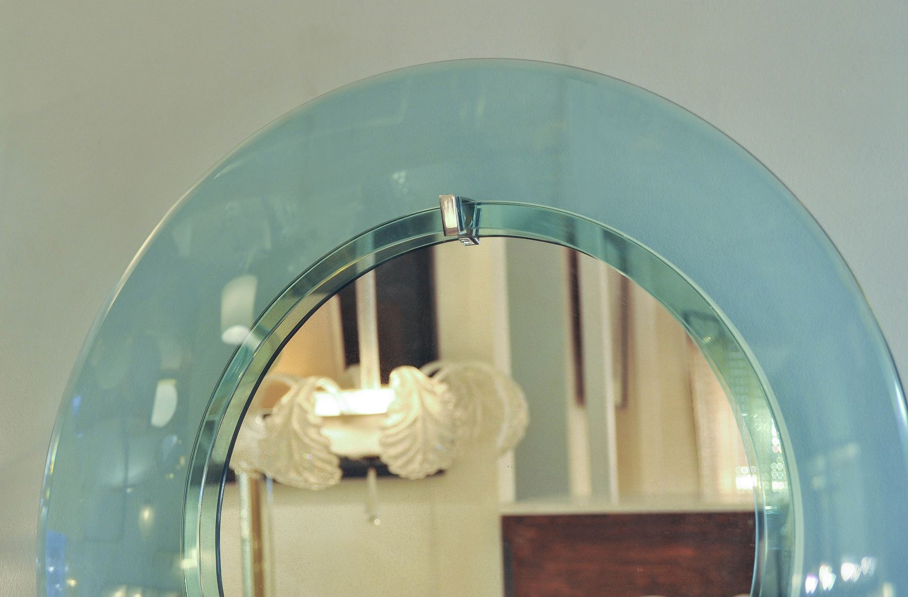 The image for Valerie Wade 1950S Italian Circular Mirror 02