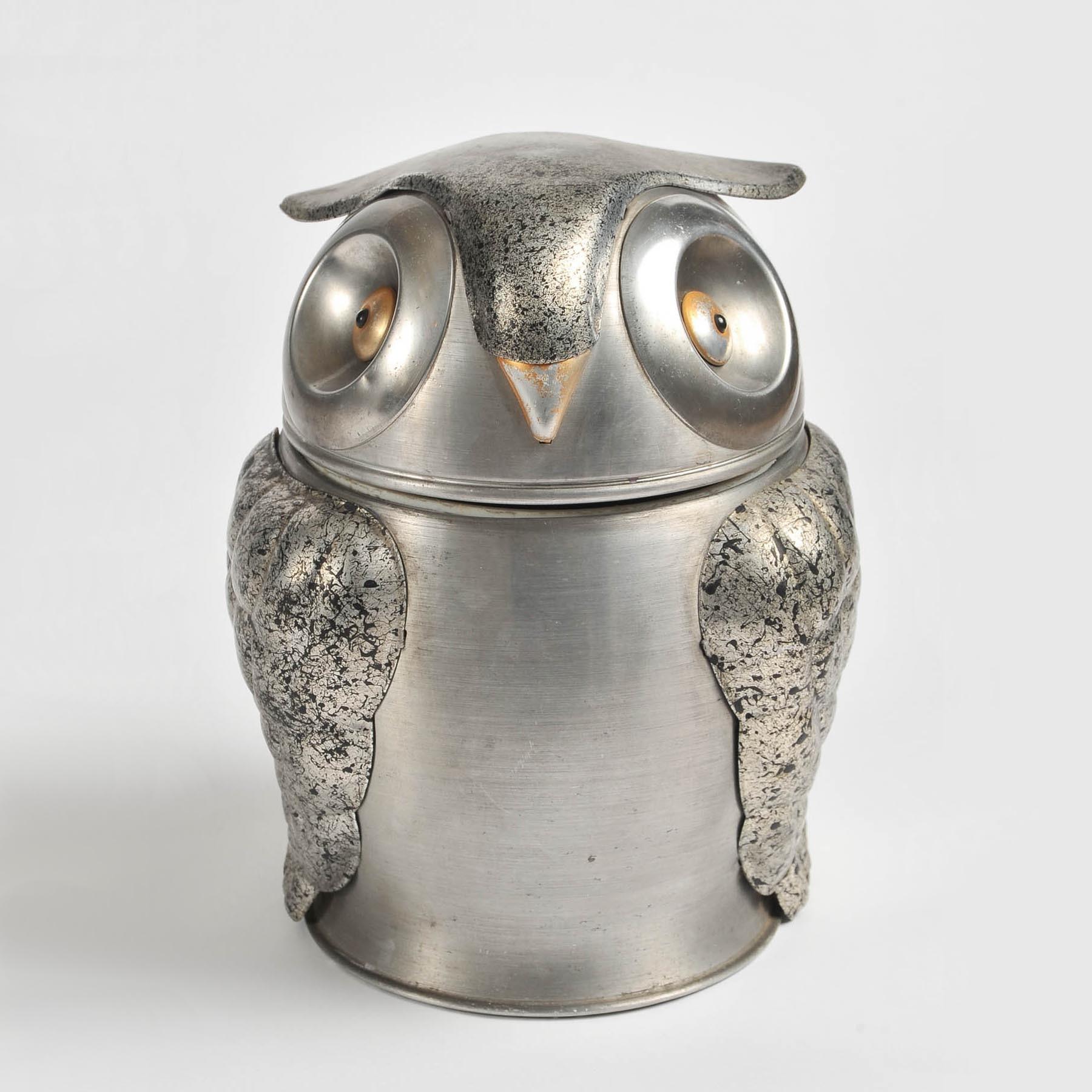 Valerie Wade 1960S Owl Ice Bucket 1