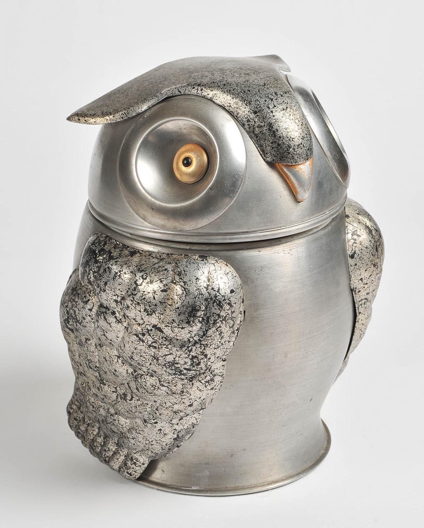Valerie Wade 1960S Owl Ice Bucket 2