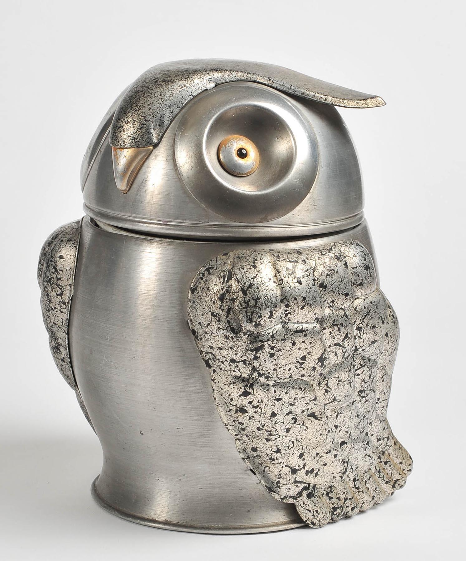 Valerie Wade 1960S Owl Ice Bucket 3