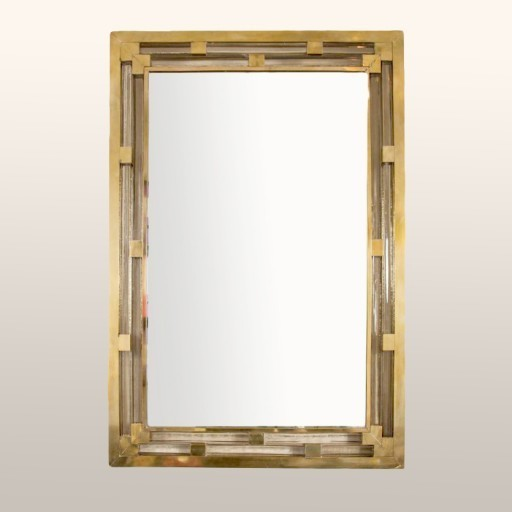 Valerie Wade Brass Glass Mirror 01
