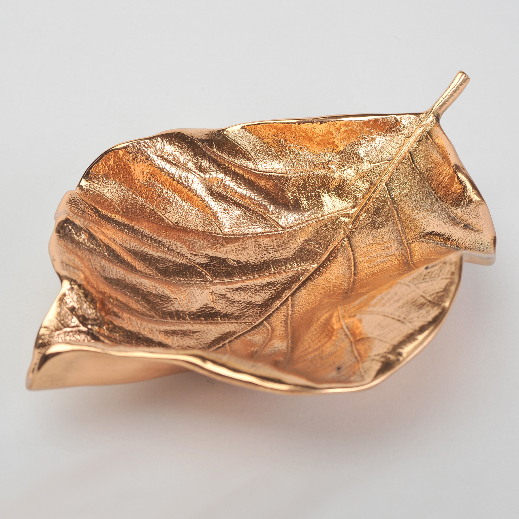 Valerie Wade Cast Bronze Leaf Small 01