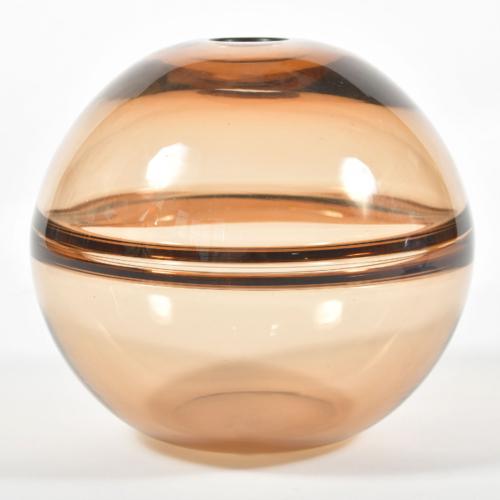 1950S Bronze Murano Globe Vase 01A