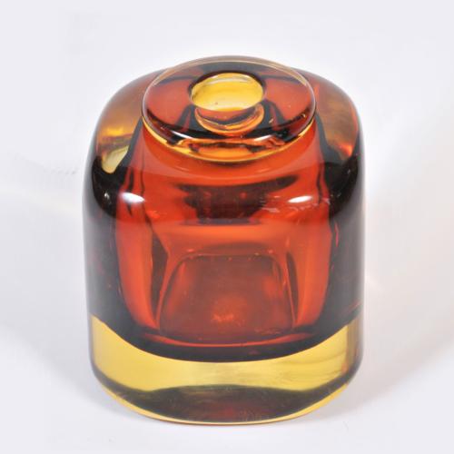 Amber Glass Vase 01