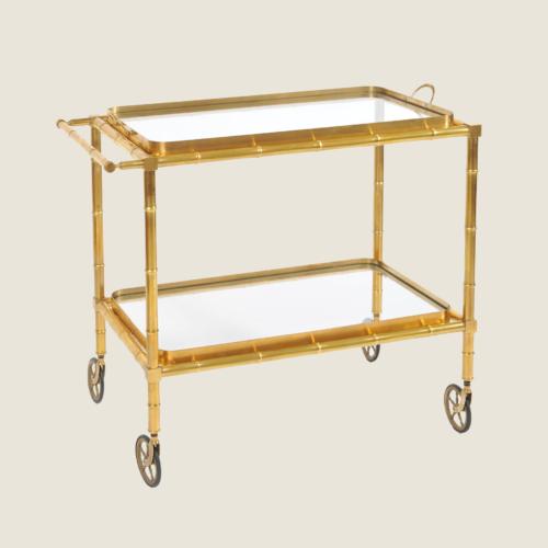 Bamboo Brass Trolley 01 Vw