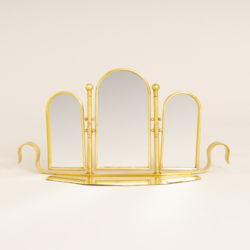 Brass Triple Dt Mirror 0358