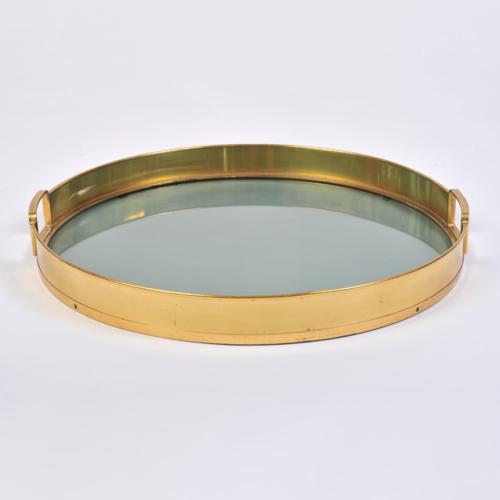 Circular Brass Tray 01