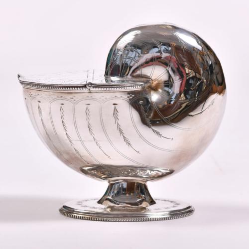 English Silver Plate Cornucopia 01