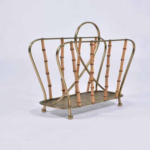 Italian Bamboo Magazine Rack 1 Final