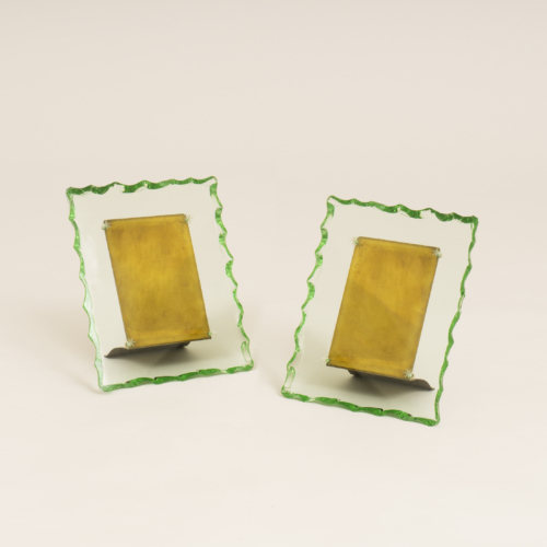 Italian Glass Picture Frames 0267