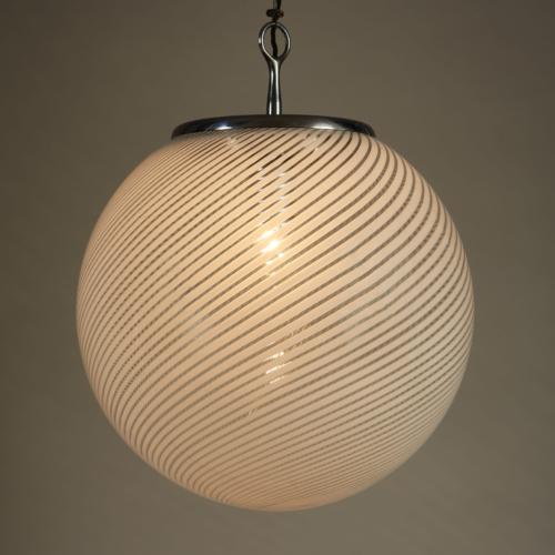 Italian Swirl Ball Lamp 0098 V1