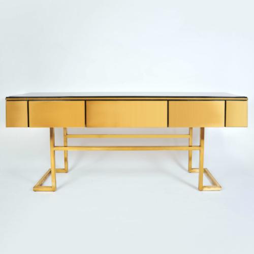 Long Brass Sideboard 01