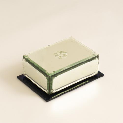 Mirrored Cigarette Box 0287
