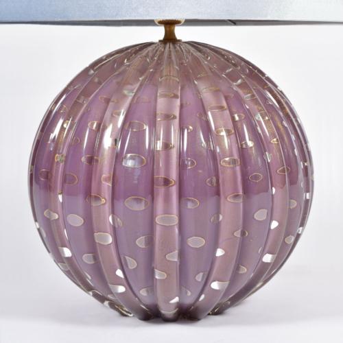 Murano Purple Lamp 01