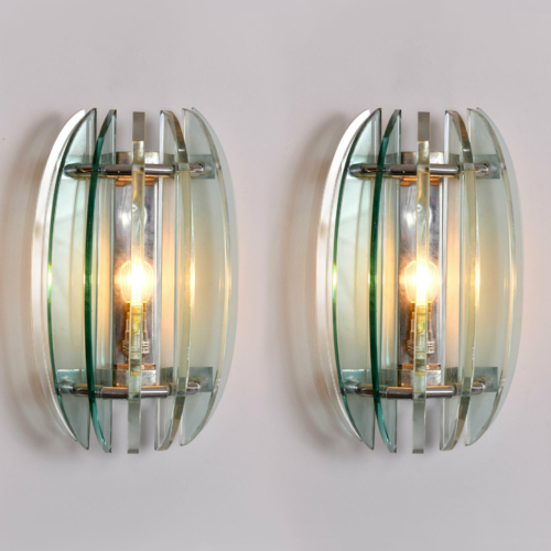 Pair Veca Wall Lights 01
