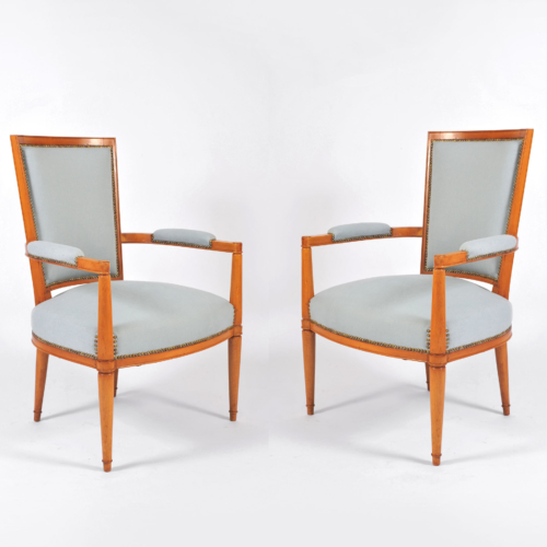 Pair Of Arbus Armchairs 01