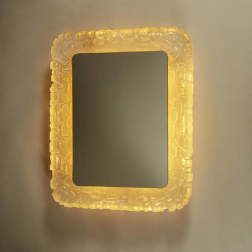 Resin Back Lit Mirror 254 V1