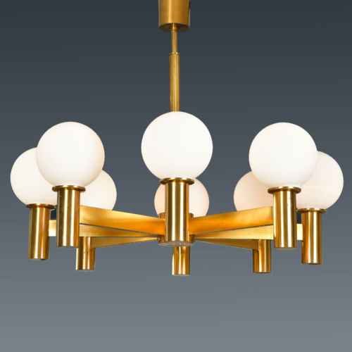 Swedish Eight Arm Chandelier 01