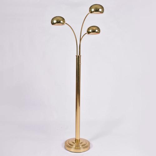 Us 1970S Brass Floor Lamp 01