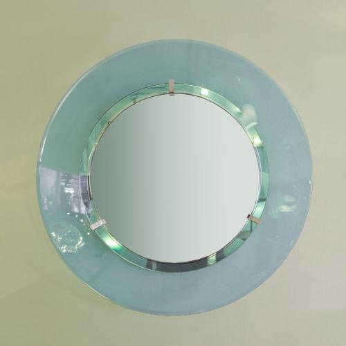 Valerie Wade 1950S Italian Circular Mirror 01