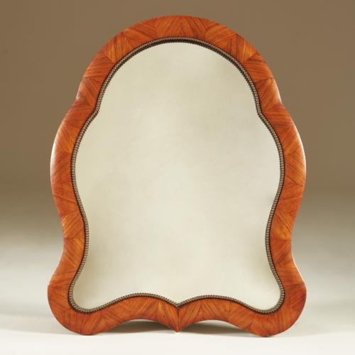 Walnut Dressing Table Mirror 0009 V1