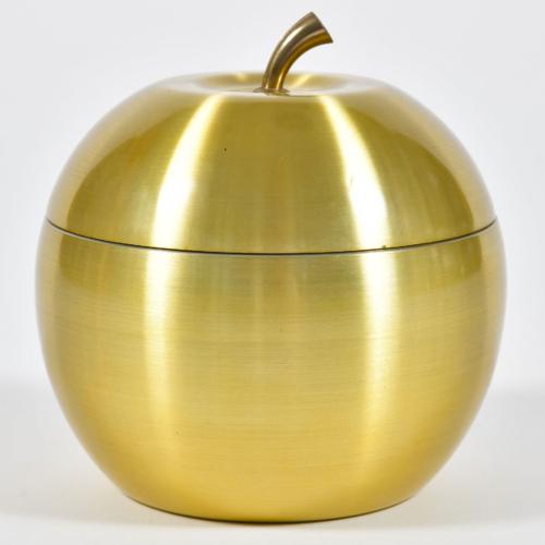 Apple Brass Ice Bucket 01