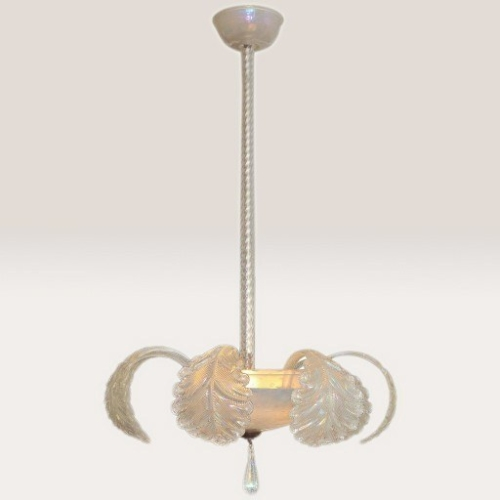 1950s chandelier by Barovier e Toso | Valerie Wade
