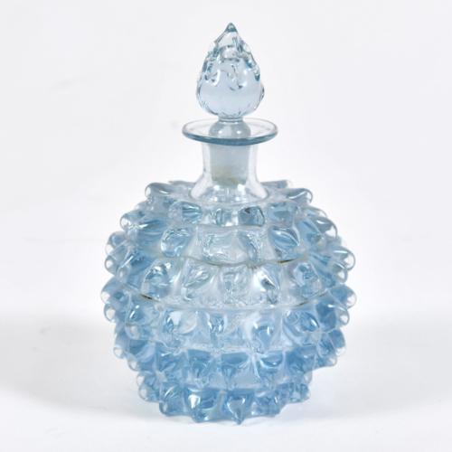 Blue Murano Scent Bottle 01