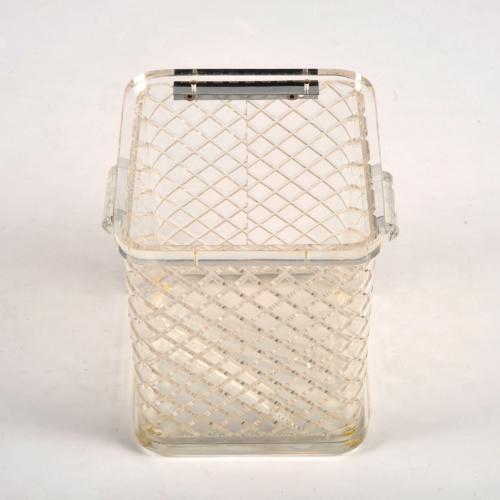Lucite Ice Bucket Squares