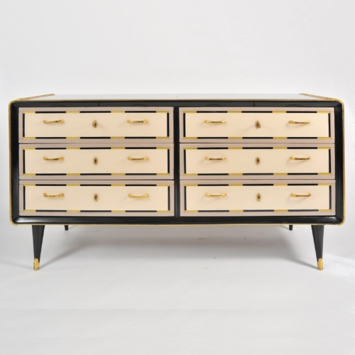 Valerie Wade Fc664 1980S Italian Double Width Chest Drawers 01