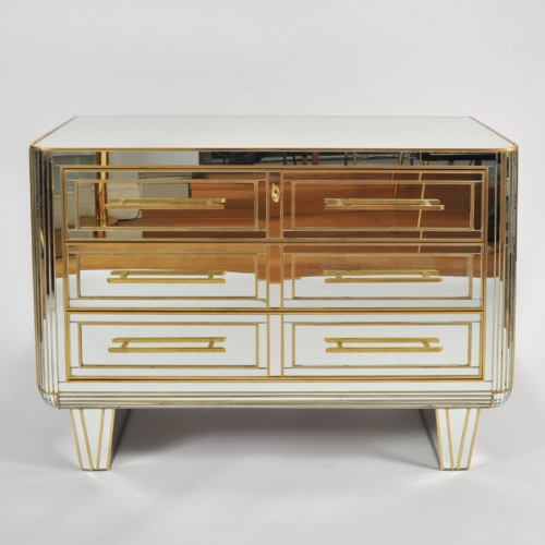 Valerie Wade Fc665 1970S Mirrored Chest Drawers 01