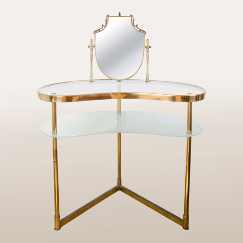 Valerie Wade Fd336 Brass Polka Dot Dressing Table I