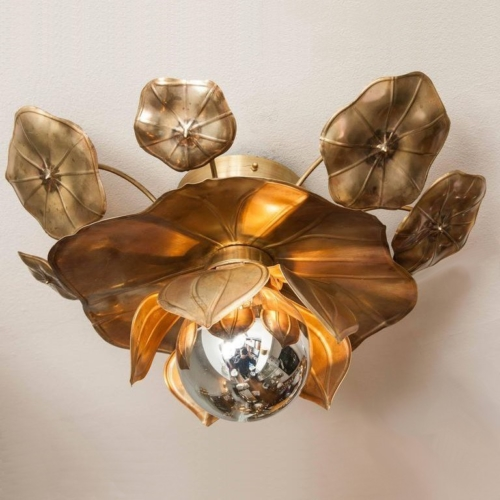 Valerie Wade Lc544 Lotus Flower Ceiling Lights 01