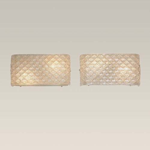 Valerie Wade Lw227 Italian Glass Wall Lights 01