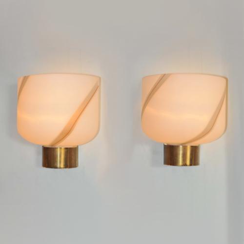 Valerie Wade Lw622 Pair 1960S Murano Wall Lights 01