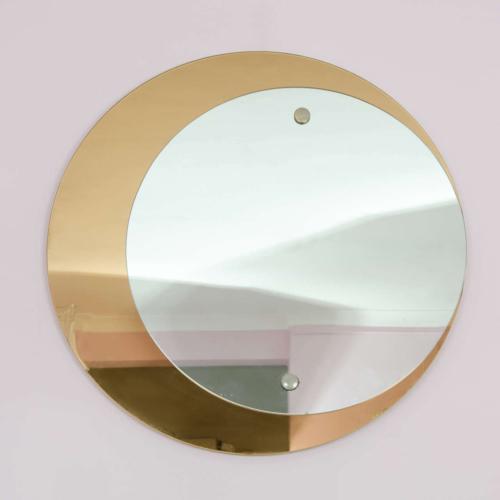 Valerie Wade Mw395 1960S Double Circular Mirror Crystal Arte 01 Copy