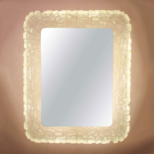 Valerie Wade Mw483 1960S Rare Italian Back Lit Mirror 01