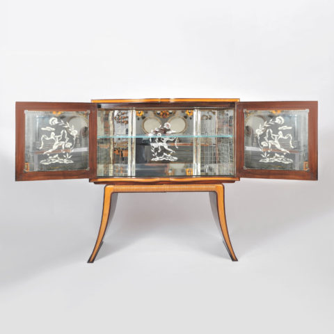 1950S Cocktail Cabinet 01
