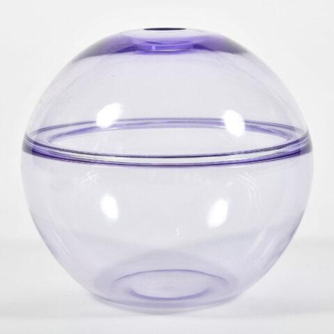 1950S Purple Murano Globe Vase 01