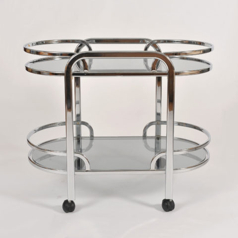 1970S Italian Chrome Trolley 01