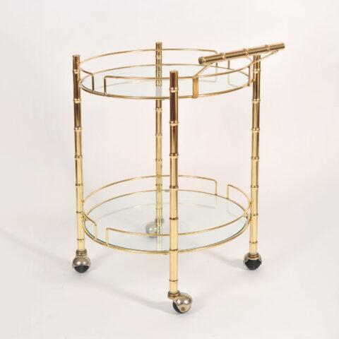 Circular Brass Trolley 01
