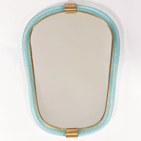 Firenze Mirror Blue Oblong 01