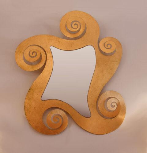 Gilded Swirl Mirror 02