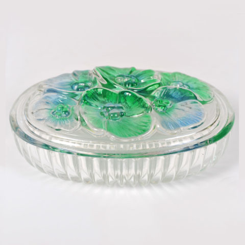 Glass Lidded Bowl 01
